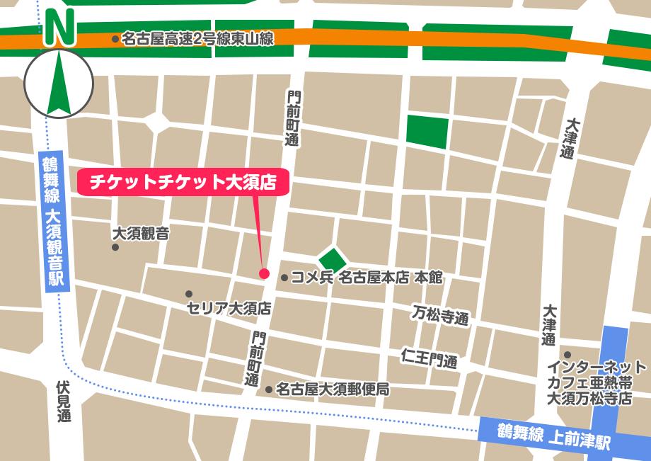 リトルゲージ地図