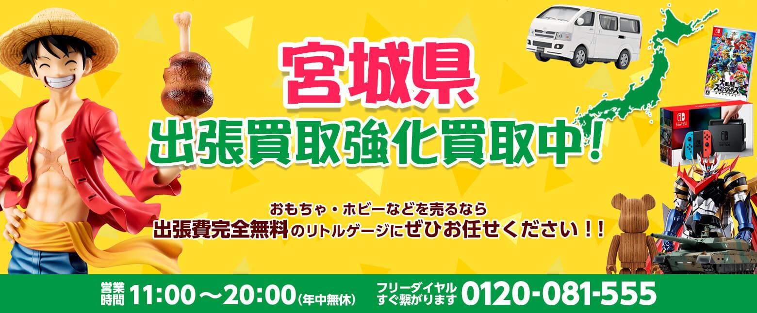 宮城県でホビー売るならリトルゲージにおまかせください